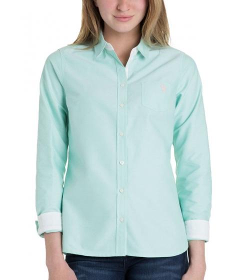 Imbracaminte Femei US Polo Assn Solid Pocket Oxford BERMUDA