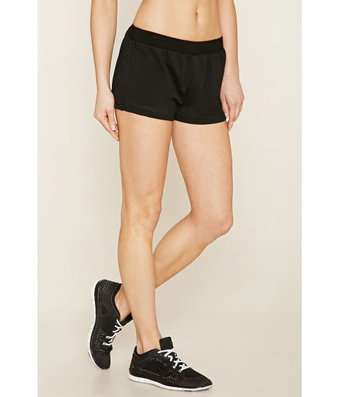 Imbracaminte Femei Forever21 Active Mesh Shorts Black
