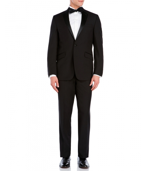 Imbracaminte Barbati Kenneth Cole Reaction Black Classic Fit Two-Button Tuxedo Black