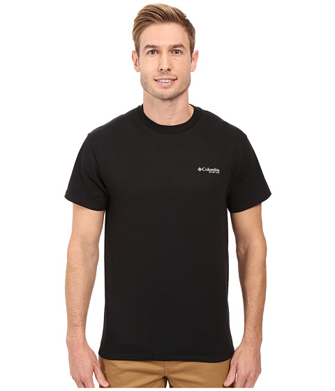 Imbracaminte Barbati Columbia PFG Americanatrade Fish Flag Shirt Black
