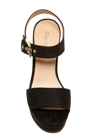 Incaltaminte Femei ZiGiny Gretta Platform Sandal BLK SUDETT