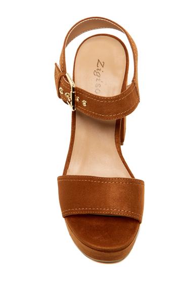 Incaltaminte Femei ZiGiny Gretta Platform Sandal TAN SUDTE