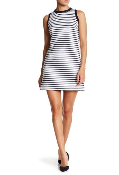 Imbracaminte Femei LOVEAdy Striped Sport Dress WHITE-NAVY