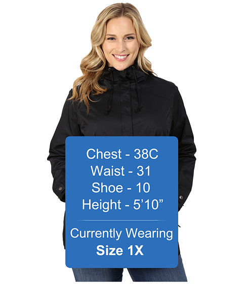 Imbracaminte Femei Columbia Plus Size Pardon My Trenchtrade Rain Jacket Black
