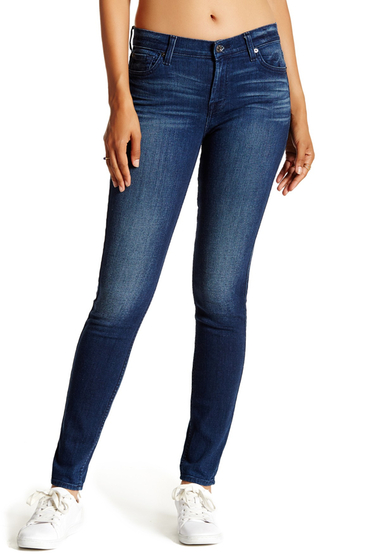 Imbracaminte Femei 7 For All Mankind Gwenevere Skinny Jean HAVSULKBLU