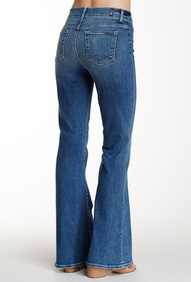 Imbracaminte Femei 7 For All Mankind Tailorless Pintuck Trouser Jean SWEETLTIND