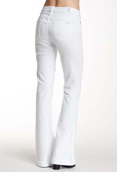 Imbracaminte Femei 7 For All Mankind Slim Trouser Jean WHITE