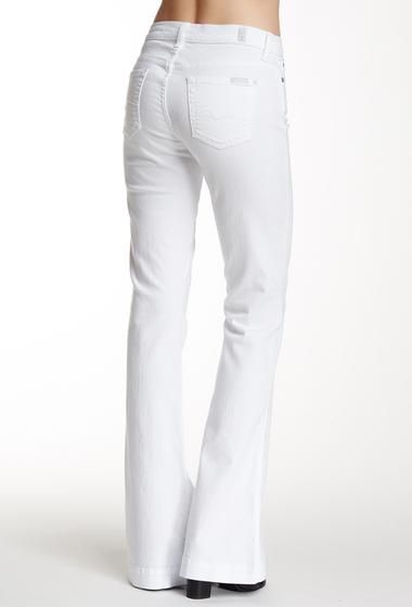 Imbracaminte Femei 7 For All Mankind Slim Trouser Jean WHITE