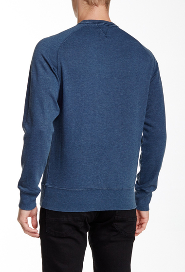 Imbracaminte Barbati Barbour International Flags Crew Neck Sweater DARK CHAMBRAY