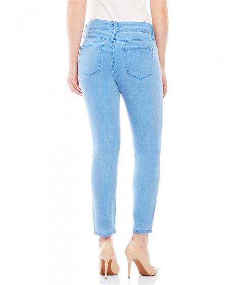 Imbracaminte Femei NYDJ Angie Super Skinny Ankle Jeans Monaco Blue