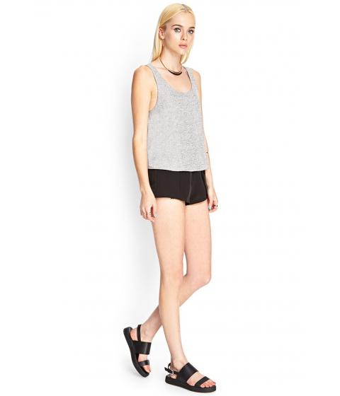 Imbracaminte Femei Forever21 Soft Knit Tank Heather grey