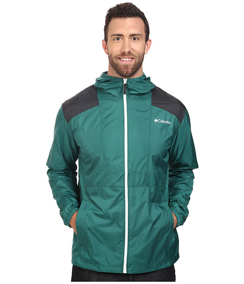 Imbracaminte Barbati Columbia Big amp Tall Flashbacktrade Windbreaker Pine GreenShark