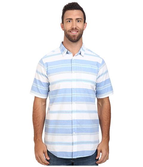Imbracaminte Barbati Columbia Big amp Tall Thompson Hilltrade II Yarn Dye Shirt Super Blue Stripe