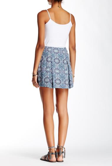 Imbracaminte Femei Free People Printed Mini Skirt ASH COMB
