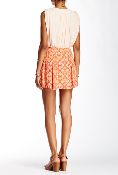 Imbracaminte Femei Free People Printed Mini Skirt POPPY CMBO