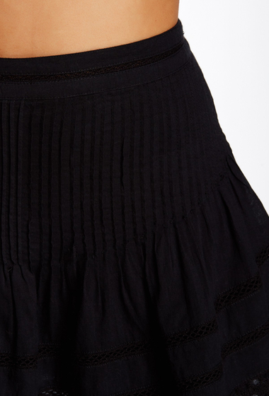 Imbracaminte Femei Free People Summer Nights Mini Skirt BLACK