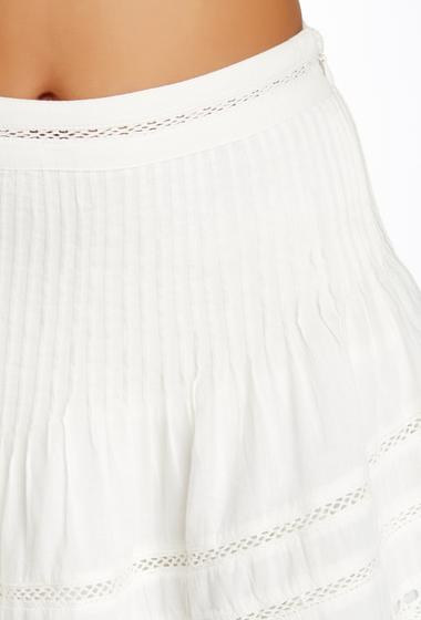 Imbracaminte Femei Free People Summer Nights Mini Skirt IVORY