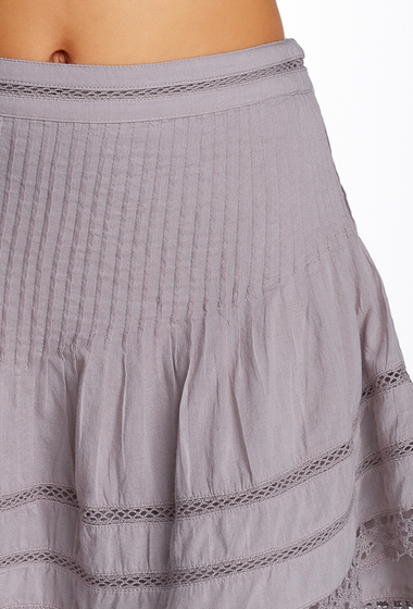Imbracaminte Femei Free People Summer Nights Mini Skirt PRPL CRYSL