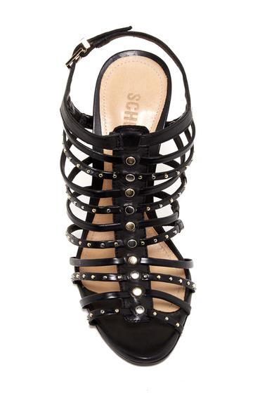 Incaltaminte Femei Schutz Studded Cage Stiletto Sandal BLACK