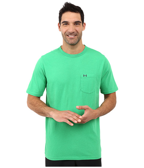 Imbracaminte Barbati Under Armour UA Tri-Blend Pocket Tee FiestyFiestyStealth Gray