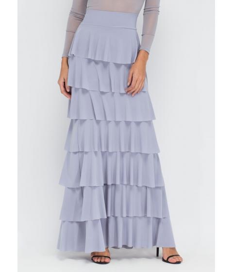 Imbracaminte Femei CheapChic Burst Into Tiers Ruffled Maxi Skirt Grey