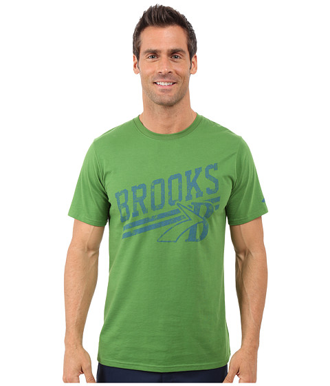Imbracaminte Barbati Brooks Heritage Tee Forest