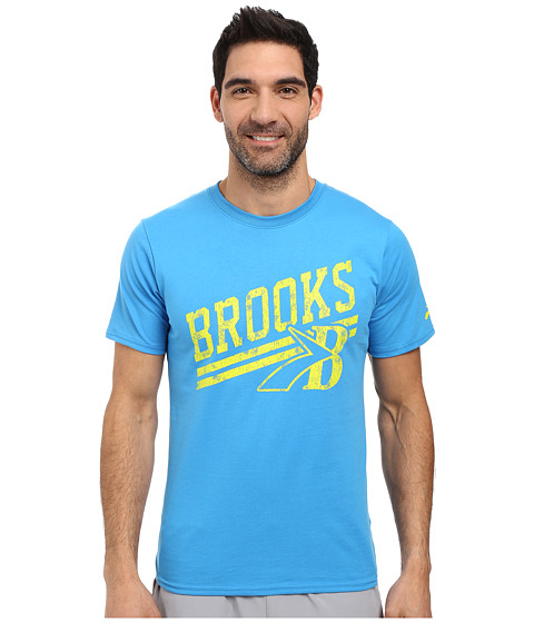 Imbracaminte Barbati Brooks Heritage Tee Ultra Blue
