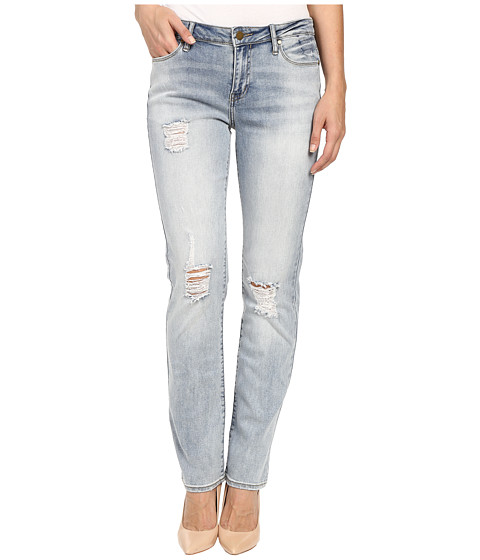 Imbracaminte Femei Calvin Klein Destroyed Straight-Perfect Jeans in Perfect Pale Perfect Pale