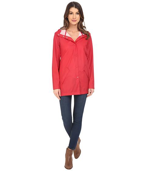 Imbracaminte Femei Cole Haan Water Repellent Hooded Parka Raincoat Fiery Red