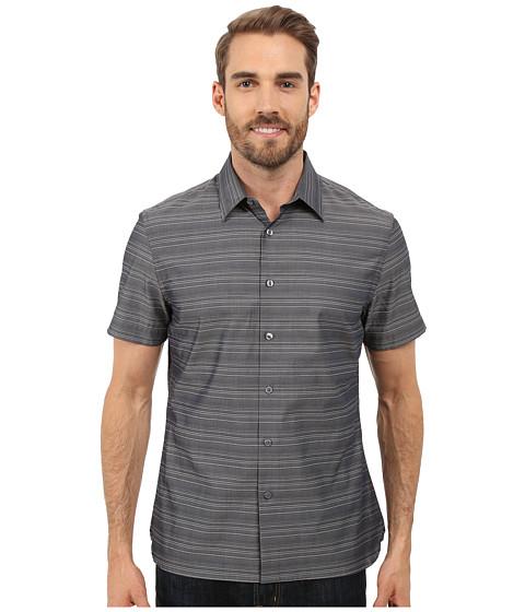 Imbracaminte Barbati Perry Ellis Horizontal Textured Stripe Shirt Dark Sapphire