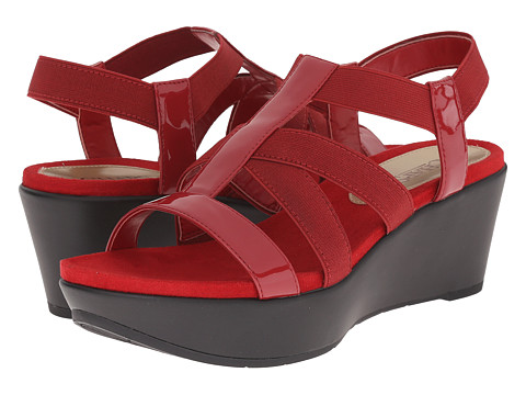 Incaltaminte Femei LAUREN Ralph Lauren Wilda Madison Red