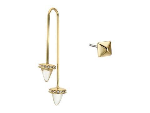 Bijuterii Femei Rebecca Minkoff Acorn Crystal ThreaderStud Mismatch Earrings 12K with Crystal