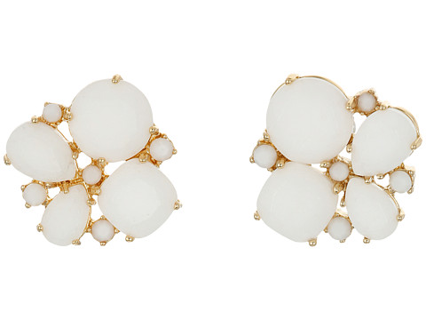 Bijuterii Femei Kate Spade New York Seastone Sparkle Cluster Stud Earrings WhiteMulti