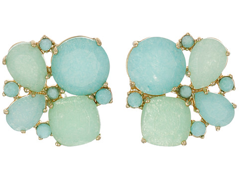 Bijuterii Femei Kate Spade New York Seastone Sparkle Cluster Stud Earrings MintMulti