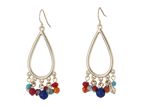 Bijuterii Femei LAUREN Ralph Lauren Fantastic Voyage Teardrop Gypsy Multi Bead Earrings MultiGold