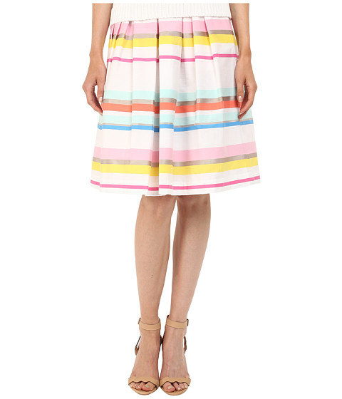 Imbracaminte Femei Kate Spade New York Ribbon Cape Stripe Pleated Skirt Multi