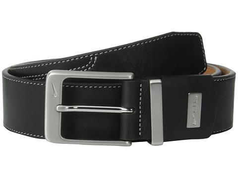 Accesorii Barbati Nike G-Flex Double-Stitch Premium Belt Black