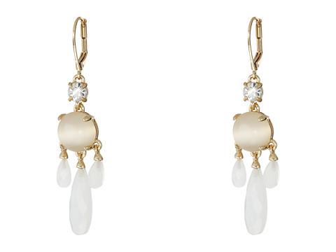 Bijuterii Femei Kate Spade New York Semi Precious Chandelier Earrings White