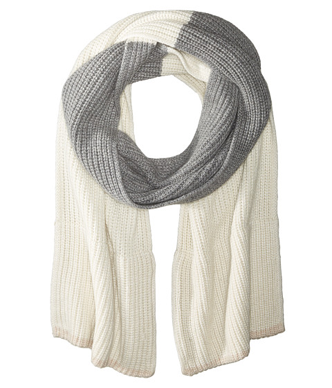 Accesorii Femei Kate Spade New York Zip-Up Pocket Muffler CreamGrey MelangePumice