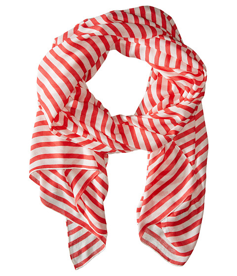 Accesorii Femei Kate Spade New York Winter Painterly Strip Oblong Scarf Geranium