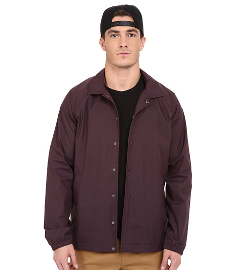 Imbracaminte Barbati Converse Cons Coaches Jacket Black Cherry