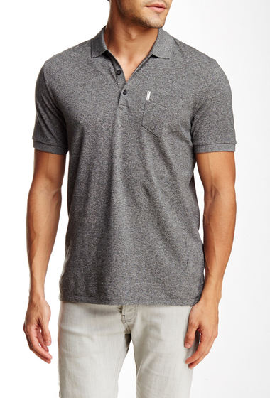 Imbracaminte Barbati Ben Sherman Grindle Pocket Polo Shirt B32JET BLA