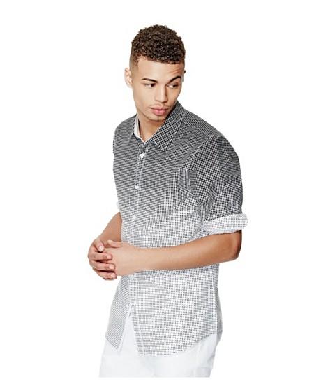 Imbracaminte Barbati GUESS Cambron Long-Sleeve Poplin Shirt true white