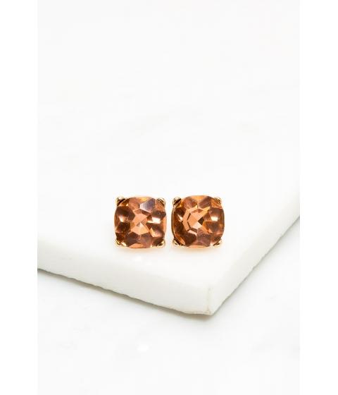 Bijuterii Femei CheapChic Prong Accented Rhinestone Stud Earring Peach