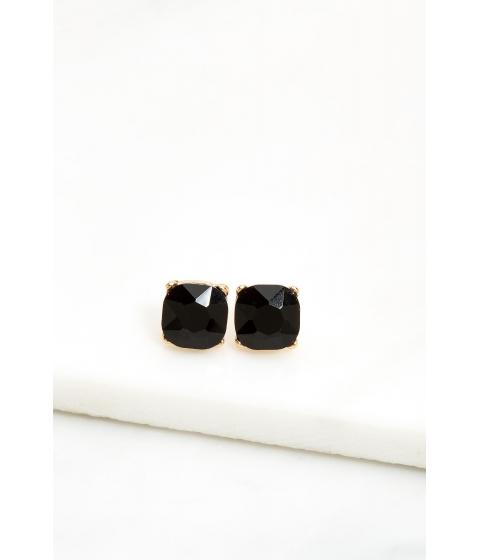 Bijuterii Femei CheapChic Prong Accented Rhinestone Stud Earring Black