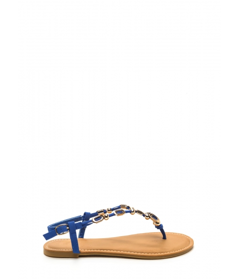 Incaltaminte Femei CheapChic Fierce Fashionista Embellished Sandals Sapphire