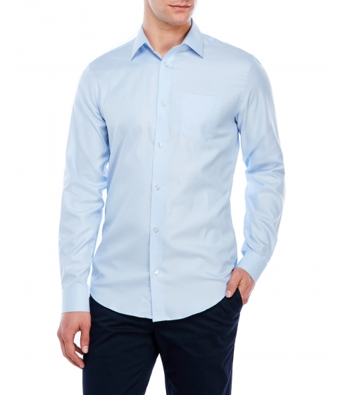 Imbracaminte Barbati Moods of Norway Kristian Vik Structure Shirt Light Blue