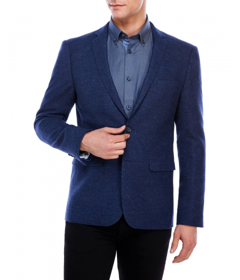 Imbracaminte Barbati Moods of Norway Stein Tonning Donegal Sport Coat Evening Blue