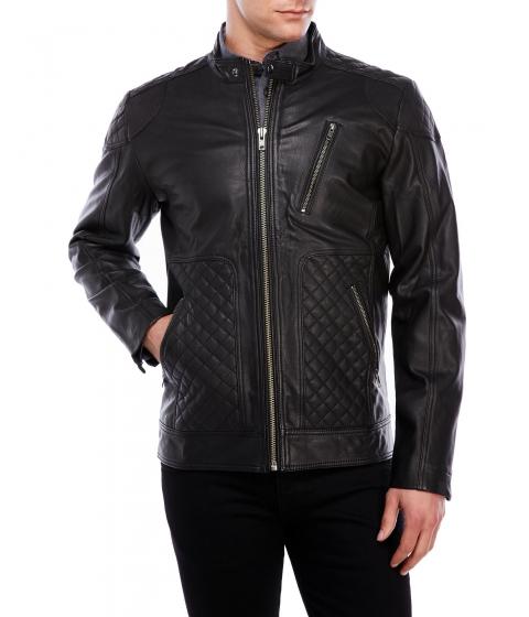 Imbracaminte Barbati Moods of Norway Eddy Dale Leather Jaket Black
