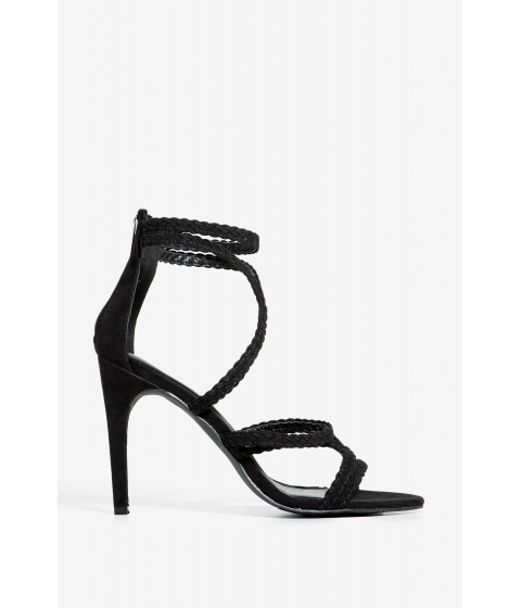 Incaltaminte Femei CheapChic Lilo-3 All Knotted Up Heel Black